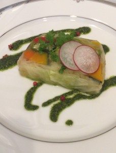 夏野菜のテリーヌ